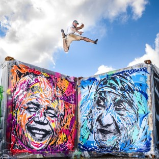 Street Art for Mankind, Miami by Jo Di Bona 2017, photo by Loïc Ercolessi