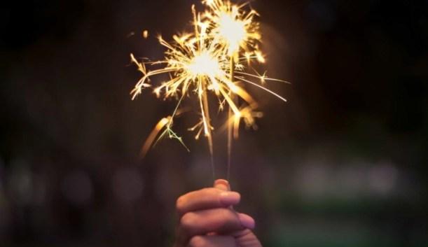 firework sparkler thing