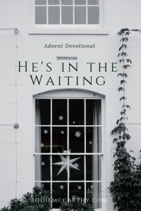 In the waiting - advent devotional