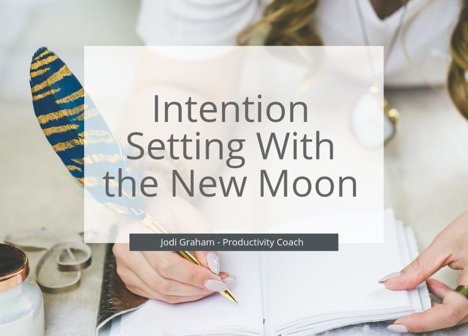Intention Setting With The New Moon