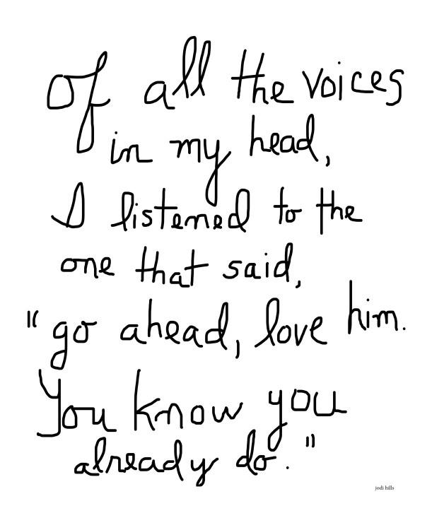 the voice.