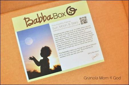 Inside the Babba Box