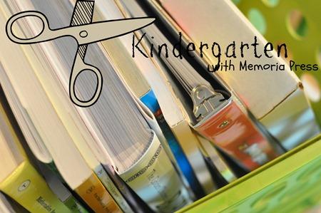 kindergarten with Memoria Press