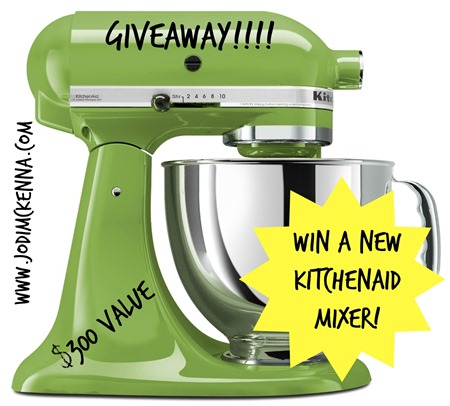 Green Kitchenaid Mixer