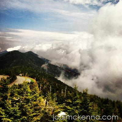 spiritual whitespace mountains