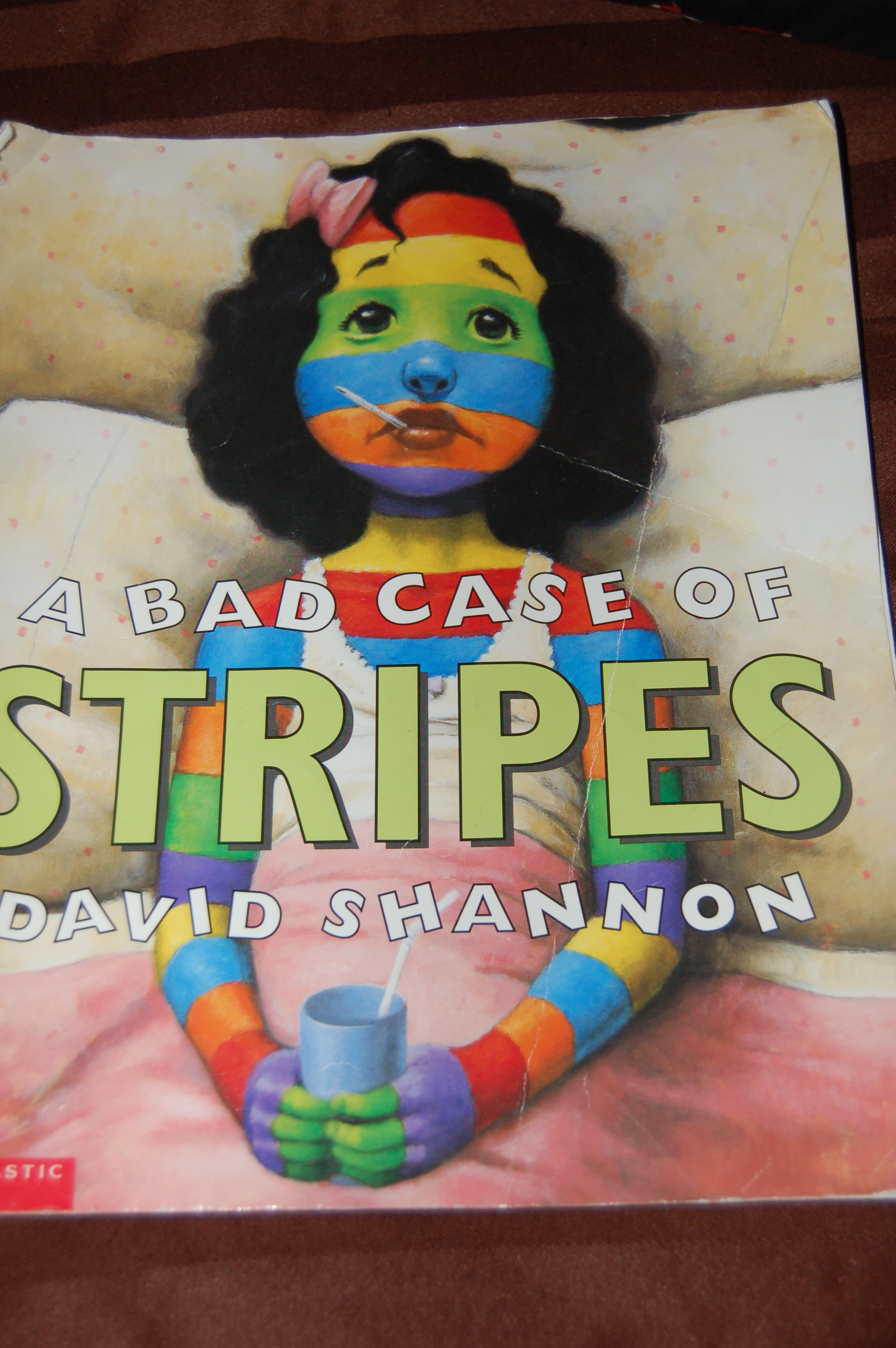 A Bad Case Of Stripes By David Shannon Book Review