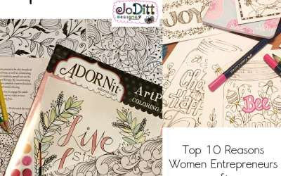 Coloring Books for Adults – Top Ten Reasons Women Entrepreneurs and Busy Moms are Loving Them