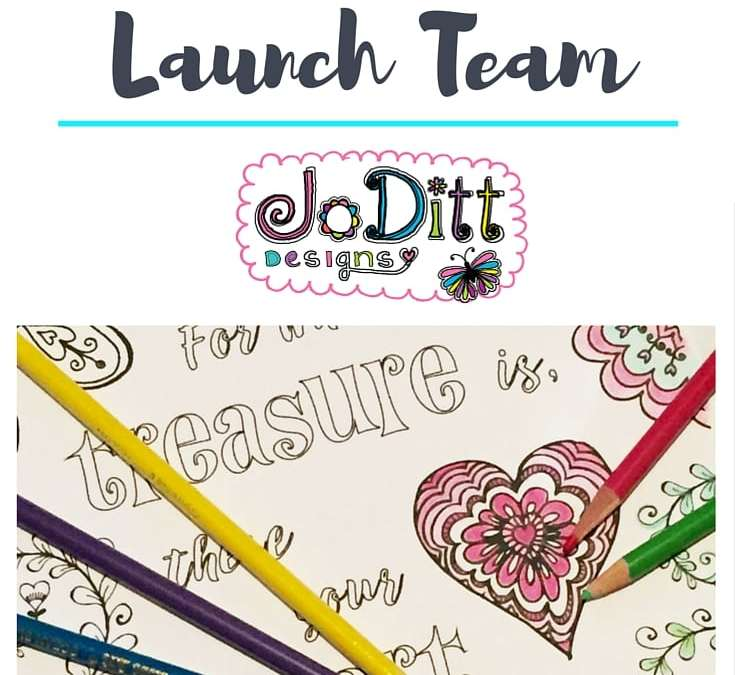 Join My Coloring Book Launch Team & Receive Exclusive Benefits