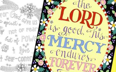 Free Christian Coloring Pages for Adults – Roundup