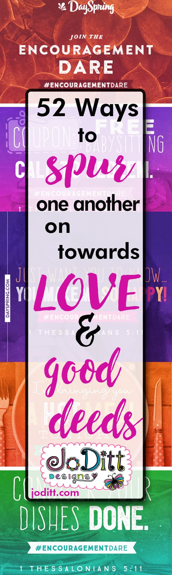 spur one another on toward love and good deeds