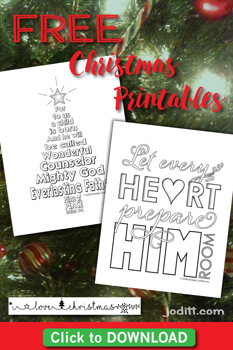 Are You Ready for Christmas + Free Christmas Printables - JoDitt ...