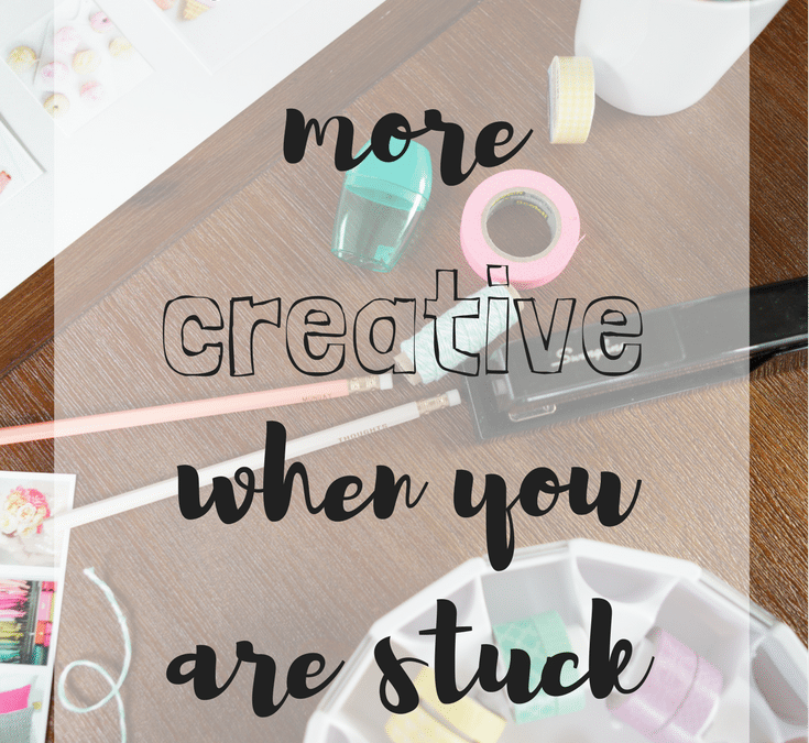 How to Be More Creative When You're Stuck