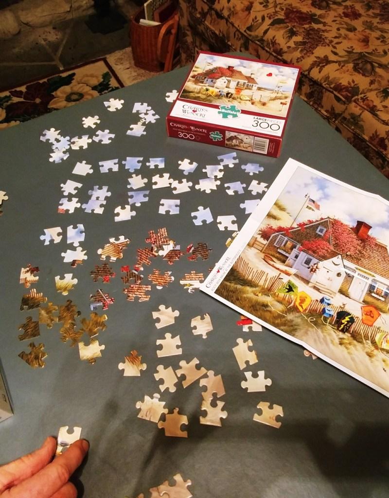 Jigsaw Puzzles as a Prayer