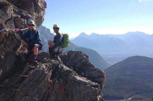 Mountaineering couple