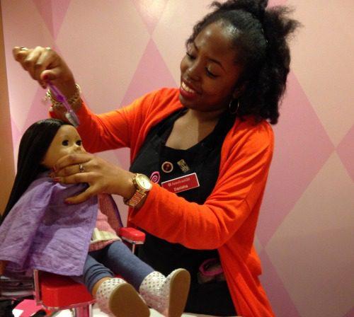 American Girl Place Hair Salon