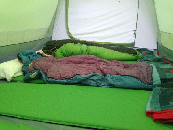 MEC green tent