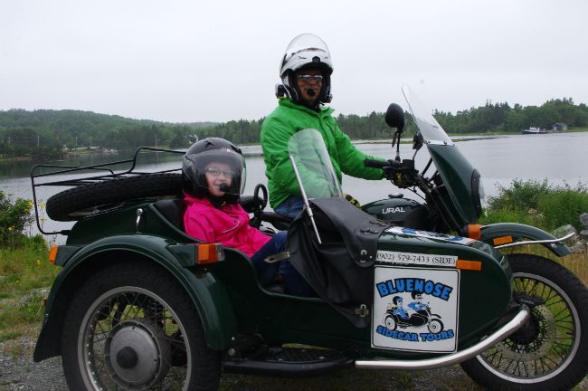 motorcycle sidecar tour