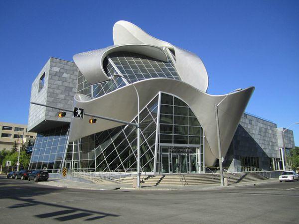 modern building Canada
