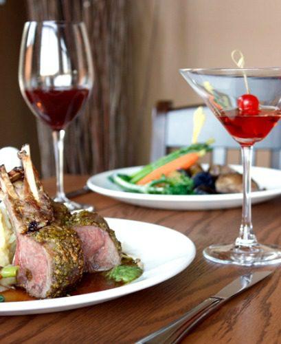 lamb with wine