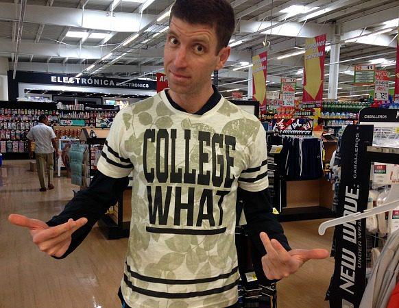 stupid college T shirts