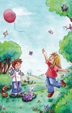 Luftballon-flieg