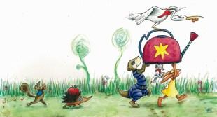 Illustration for children's book (unpublished)