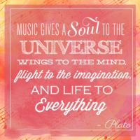 Thought of the Day. Music.