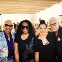 Jody Watley at Billy B. Cosmetics for Gallany and QVC  Launch Event