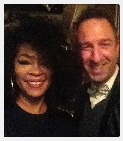 Jody Watley with Christos Garkinos of Decades Inc