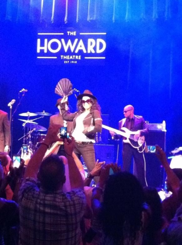 Jody Watley LIVE at The Howard Theatre. Photo (c) 2013 DARRICK