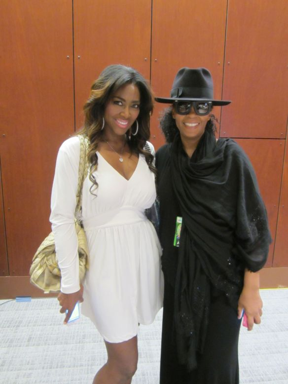 Jody Watley and Former Miss USA and RHOA's star Kenya Moore