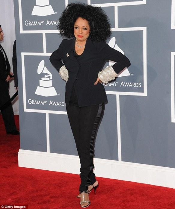 DianaRoss_Grammys_2012