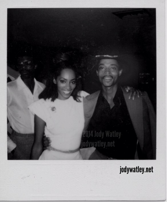 © 2014 Jody Watley and big brother John Earl Watley III in 1981