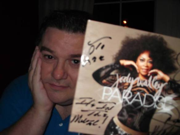 Lee Hawthorne, Belfast Ireland with his PARADISE limited edition CD.