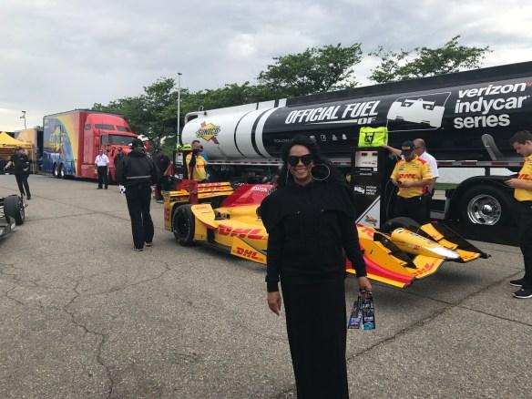 Jody Watley Detroit Grand Prix Track Access