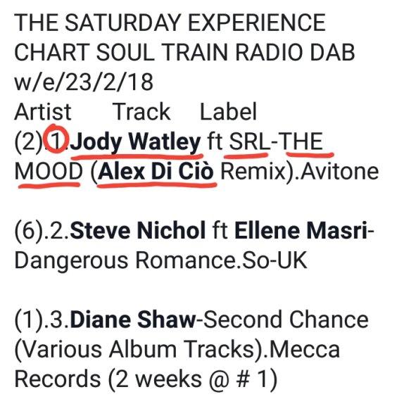 Jody Watley ft SRL Number 1 Sat Experience