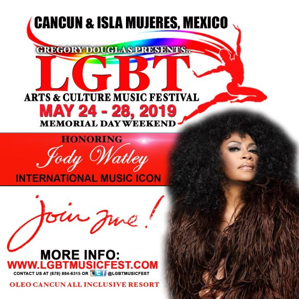 jody watley woman of excellence honor lgbt music fest 2019
