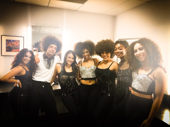 Jody Watley and Wattage dance squad