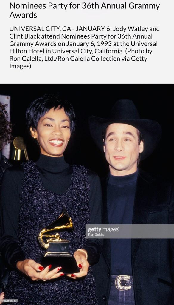 JodyWatley_ClintBlack_Grammys93_1