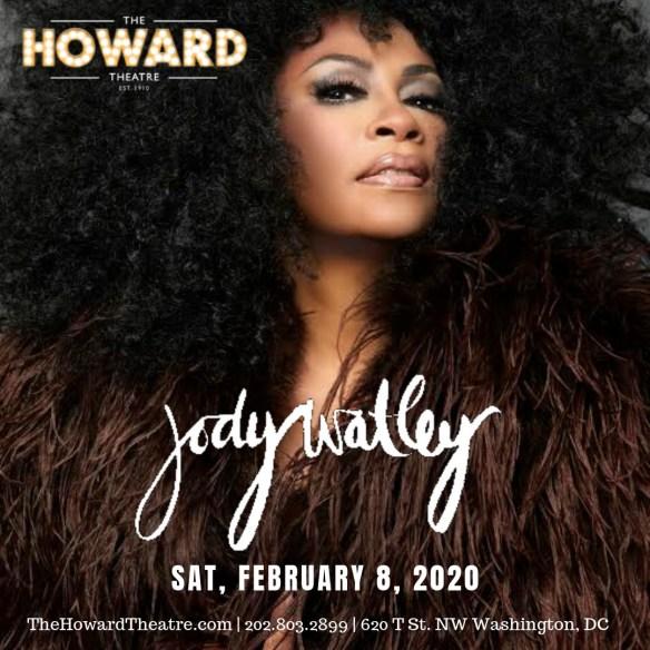 Jody Watley Howard Theatre 2020