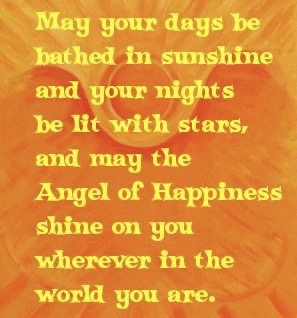 May Your Days and Nights Quote