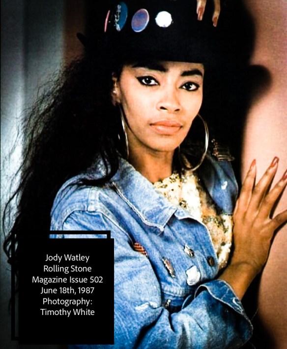 Jody Watley Rolling Stone Issue 502 1987