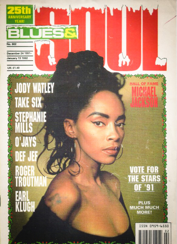 Jody Watley Blues and Soul 1991 Cover
