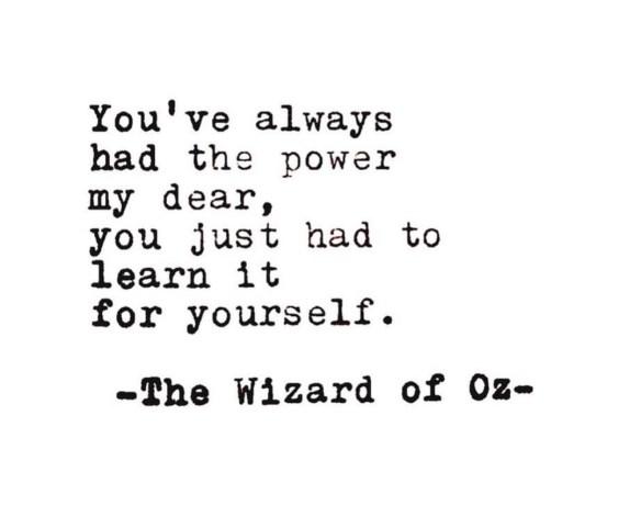WizardofOzQuote_InnerPower_SelfBelief