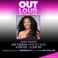 Jody Watley On FoxSoul TV OUT LOUD with Claudia Jordan