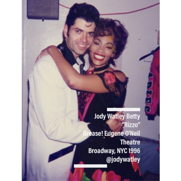Jody Watley as Rizzo and Danny Zuko Joseph Barbara 1996