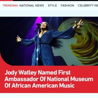 Jody Watley Named First Ambassador of The Museum of African American Music - BET