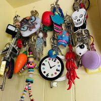 Key-rings - kitsch, cute or cool - don't forget your keys!