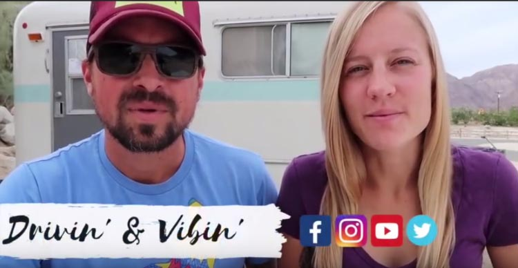 The Top 3 RV YouTube Channels. RV YouTube Channel no. 3: Drivin' and Vibin'