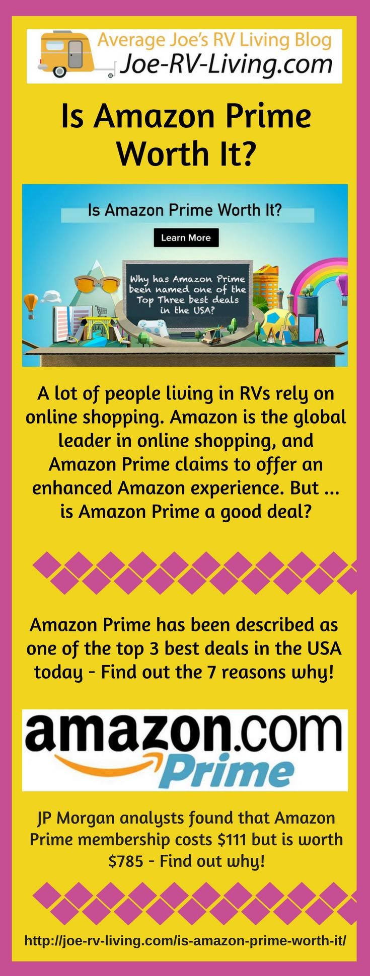 Is Amazon Prime Worth It for People Living in RVs?